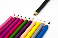 Abandoned crayon Royalty Free Stock Images