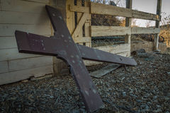 Abandoned Cross Stock Photography