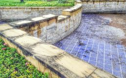 Abandoned dam Royalty Free Stock Photos