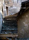 Abandoned damaged stairs Stock Photos