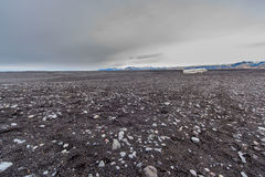 Abandoned DC3 SOuthern Iceland stock images