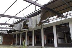 Abandoned Demolished house Stock Images