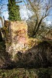 Abandoned derelict brick kiln Stock Photography