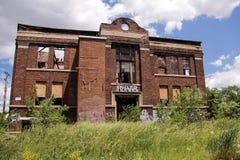 Abandoned Detroit Building 1 Stock Photo
