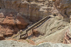 Abandoned Dirty Devil Uranium Mine in Utah Stock Photo
