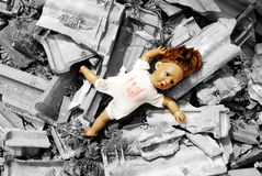 Abandoned Doll Royalty Free Stock Image