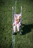 Abandoned Dolls and Pram Stock Photos