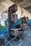 Abandoned drilling machine Stock Images