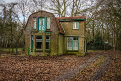Abandoned Dutch House Stock Photo
