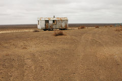 Abandoned dwelling in the desert Stock Photography