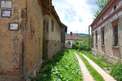 Abandoned, dying village, Serbia Stock Images