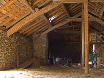 Abandoned Empty Stable Stock Images