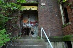 Abandoned entrance Royalty Free Stock Image