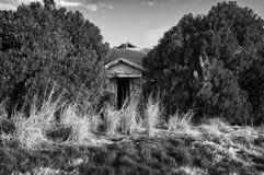 Abandoned entry Stock Photo