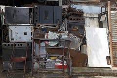 Abandoned equipment domestic Stock Photo