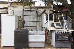 Abandoned equipment domestic Royalty Free Stock Photo