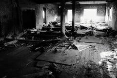 Abandoned förlägger Arkivbild