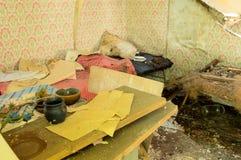 Abandoned förlägger Arkivfoto