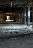 Abandoned factory 13. This old building is located in St-Jean sur richelieu, Quebec, Canada stock photography