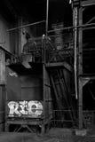 Abandoned Factory 2 Stock Photo