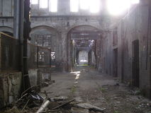 Abandoned Factory Royalty Free Stock Images