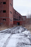 Abandoned factory 8. This old factory is located in St-Jean sur richelieu, Canada Royalty Free Stock Photography