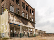 Abandoned factory Royalty Free Stock Photo