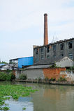 Abandoned Factory in China Stock Photo