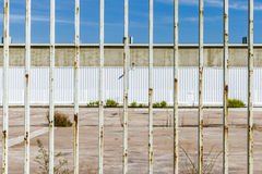 Abandoned factory closed Royalty Free Stock Images