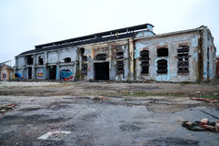 Abandoned factory Royalty Free Stock Image