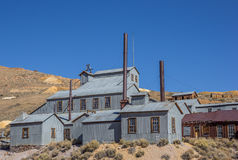 Free Abandoned Factory In Bodie State Park Stock Photo - 66337350