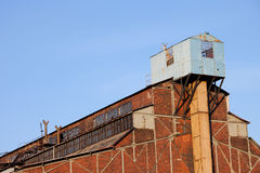 Abandoned Factory Industrial Architecture Royalty Free Stock Photos