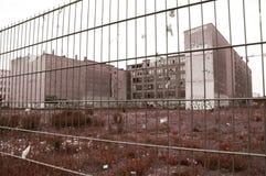 Abandoned factory, economic crysis Stock Image