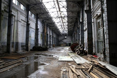 Abandoned factory Stock Photos