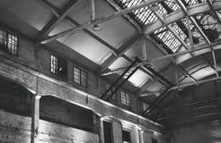 Abandoned factory interior. Royalty Free Stock Photo