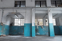 Abandoned factory Royalty Free Stock Photography