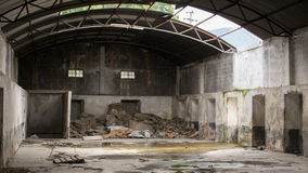 Abandoned factory. This photo was taken in an abandoned factory royalty free stock image