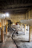 Abandoned factory Poland Royalty Free Stock Images