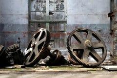 Abandoned factory royalty free stock image