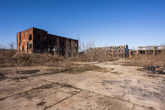 Abandoned Factory - Youngstown, Ohio stock photo