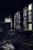 Abandoned Factory - Youngstown, Ohio stock photos
