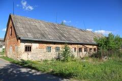 Abandoned farm building Royalty Free Stock Photo