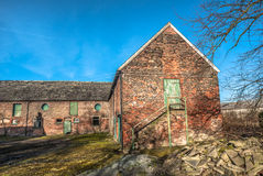 Abandoned Farm Buildings Royalty Free Stock Photo