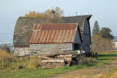 Abandoned Farm Buildings Royalty Free Stock Photography