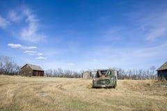 Abandoned Farm Canada royalty free stock photos
