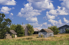 Abandoned Farm, Central Minnesota Stock Image