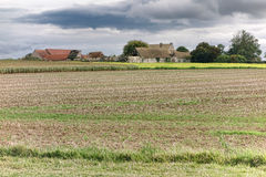 Abandoned Farm and Farmhouse Buildings in France Royalty Free Stock Photos