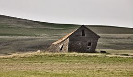 Abandoned Farm House. Saskatchewan Canada Royalty Free Stock Photo