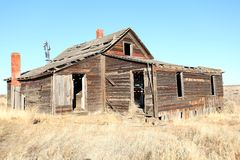 Abandoned farm house Royalty Free Stock Photo