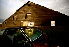 Abandoned Farm House Royalty Free Stock Images